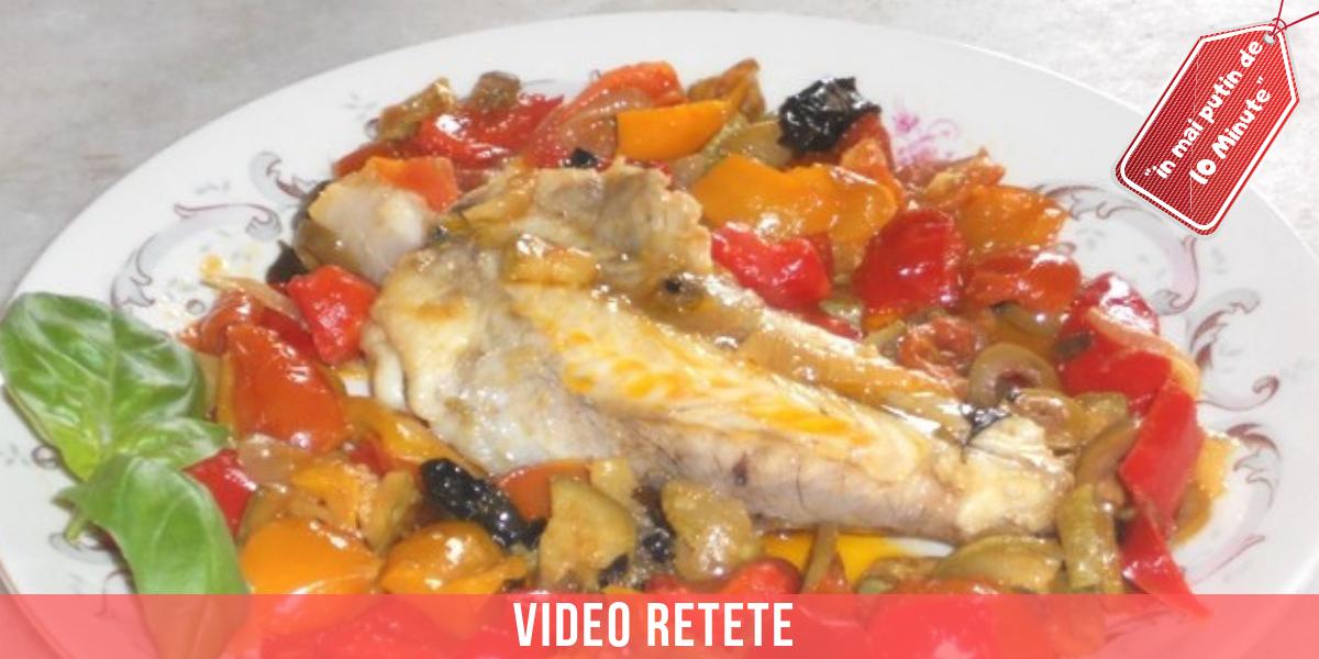 Video reteta unditar cu legume de la Giorgiomare